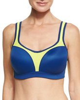 Wacoal High-Impact Colorblock Contour Underwire Sports Bra
