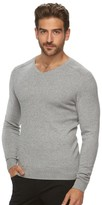 Marc Anthony Men's Slim-Fit Solid Cashmere-Blend V-Neck Sweater