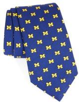 Vineyard Vines Men's University Of Michigan Silk Tie
