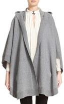 Burberry Women's Carla Hooded Knit Poncho
