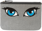Pierre Hardy Oh Roy clutch - women - Calf Leather/Suede - One Size