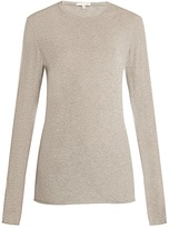 SKIN Long-sleeved cotton-jersey pyjama top