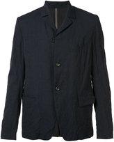 Attachment two button blazer - men - Cotton/Nylon/Linen/Flax/Cupro - 1