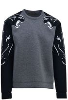Valentino Sweatshirt With Intarsia Panthers