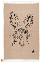 Varanassi Rabbit cotton carpet - 150 x 100 cm (78.7 x 39.3 inches)