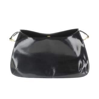 Christian Lacroix Black Leather Clutch bags