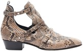 Jimmy Choo Brown Python Boots