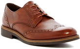 a. testoni Leather Wingtip Derby