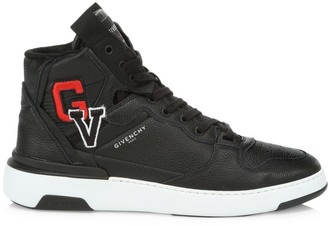 Givenchy Logo Leather Sneakers