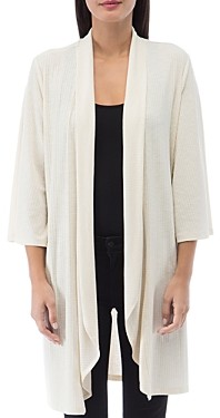 B Collection by Bobeau Ellen Waterfall Ribbed Cardigan