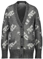 Courreges Mohair and wool cardigan