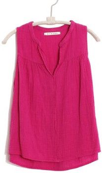 XiRENA The Carrie Top In Lipstick Pink - L