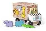 Melissa & Doug Toddler 'Animal Rescue' Shape Sorting Wooden Truck Toy