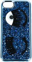 Chiara Ferragni glitter eye iphone 6/6s/7 cover