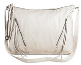 Mossimo Women's Zipper Front Cross Body Hobo Handbag