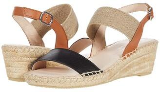 Eric Michael Lulu (Black/Tan) Women's Shoes