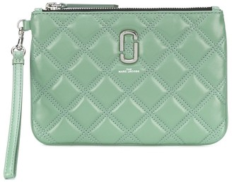 Marc Jacobs Quilted Wristlet Clutch
