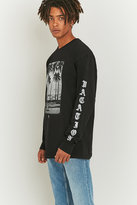 Stussy Permanent Vacation Black Long Sleeve T-shirt