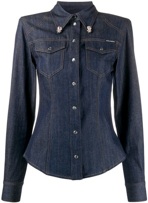 Dolce & Gabbana Slim Fit Denim Shirt