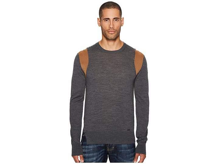 DSQUARED2 Contrast Shoulder Sweater Men's Sweater