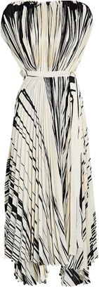Proenza Schouler Pleated Brush Stroke Dress