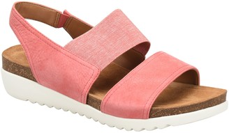 Comfortiva Cork Footbed Wedge Sandals - Elicia