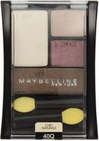 Maybelline New York Expert Wear Eyeshadow Quads, 40q Designer Chocolates Chic Naturals, 0.17 Ounce