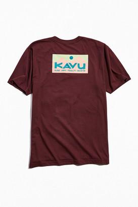 Kavu Klear Above Etch Art Tee