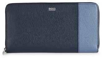 HUGO BOSS Colorblock Leather Wallet