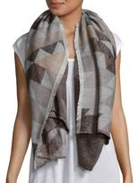 Steve Madden Triangle Pattern Scarf
