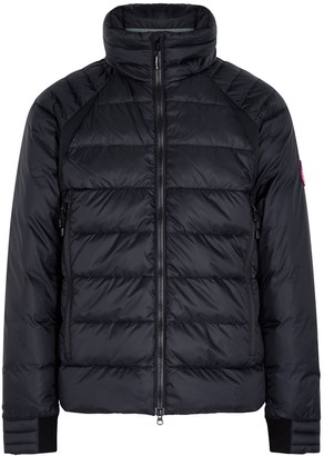 Canada Goose HyBridge navy quilted shell jacket