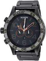 Nixon Men's A0831530 51-30 Chrono Watch