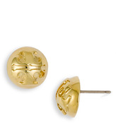 Small Domed Stud Earrings