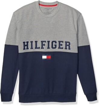 Tommy Hilfiger Men's Modern Essentials French Terry Long Sleeve Crew Neck