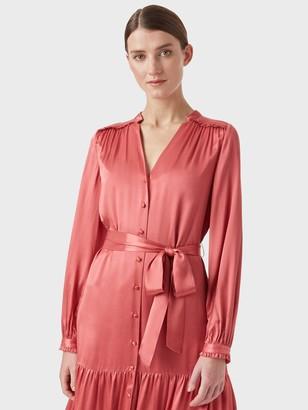 Hobbs Esther Dress - Pink
