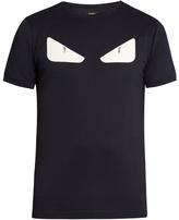 Fendi Bag Bugs Appliqué Crew-neck T-shirt