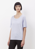 Acne Studios cloud blue nairobi linen t shirt