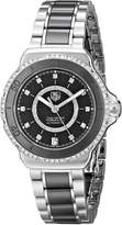 Tag Heuer Women's THWAU2212BA0859 Formula 1 Diamond-Accented Stainless Steel Automatic Self-Wind Watch