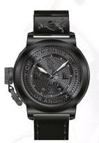 Christian Audigier Unisex ETE-115 Eternity Royal Black Ion-Plating Black Watch