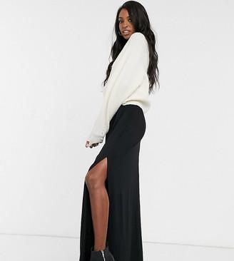 Asos DESIGN Tall shirred waist maxi skirt