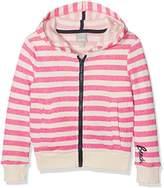 Bench Girl's Stripey Sports Hoodie,(Herstellergröße: 15-16)