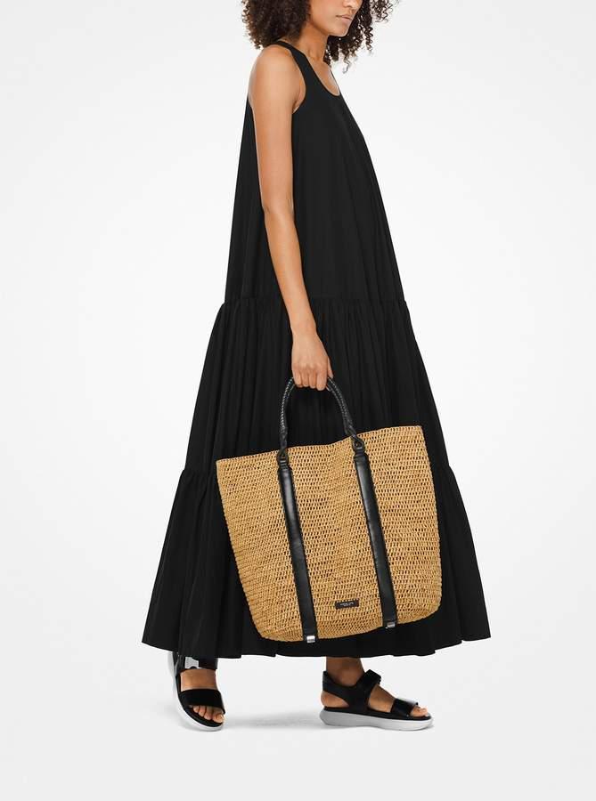 52b2aec850ad Michael Kors Bags Raffia - ShopStyle