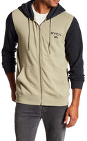RVCA Balance Hoop Colorblock Front Zip Jacket