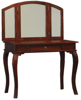 Queen Ann 1 Drawer Large Dressing Table