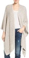 Nic+Zoe Women's Luna Cotton Blend Knit Wrap Cape