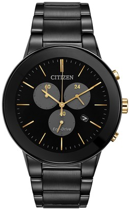 Citizen Men's Standard Stainless Steel Eco-Drive Watch, 43mm