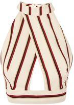 Love **Stripe Crossover Top