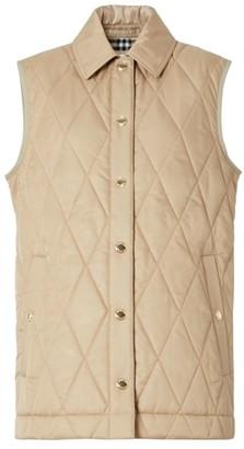 Burberry Cropthorne Quilted Vest