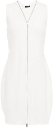 Rag & Bone Ribbed Merino Wool-blend Mini Dress
