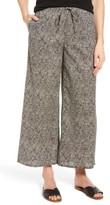 Eileen Fisher Women's Wide Leg Print Organic Cotton Pants